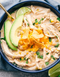 white bean chicken chili crock pot