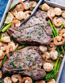 Surf and turf ideas