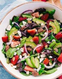 Spinach Strawberry Salad