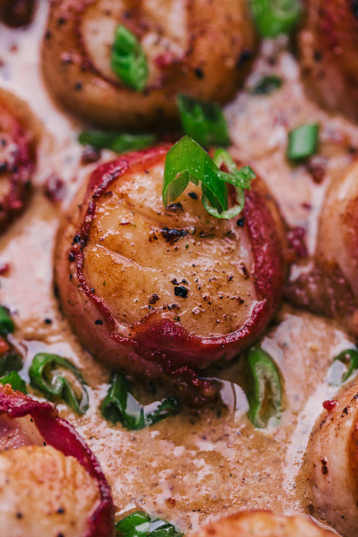 bacon wrapped scallops recipe