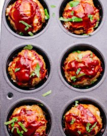 meatloaf in muffin tin
