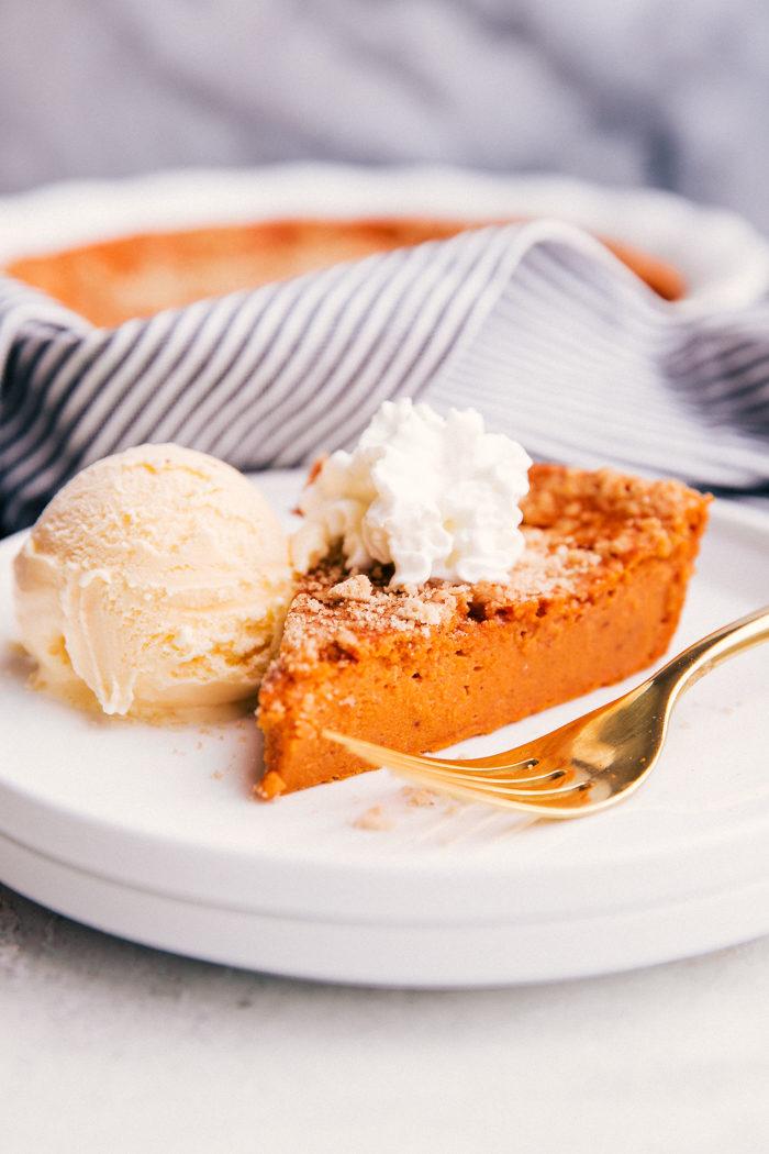 easy healthy crustless pumpkin pie recipe