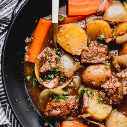 beef stew slow cooker recipe easy food ever crock pot
