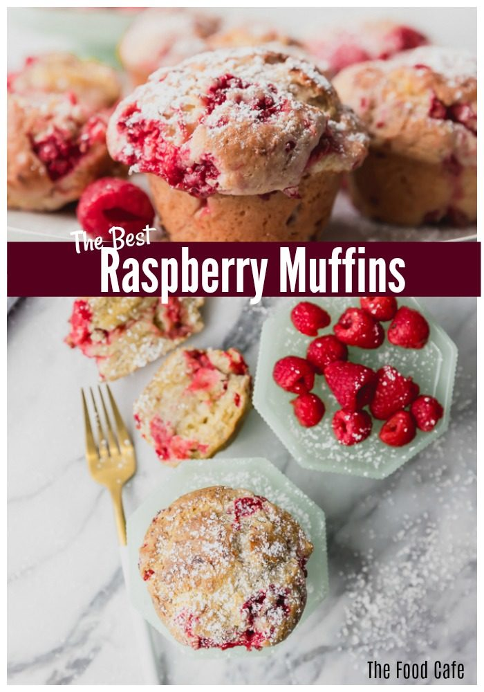 Raspberry muffin recipe | The Food Cafe