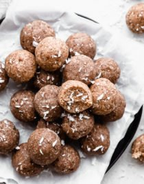 no bake protein balls