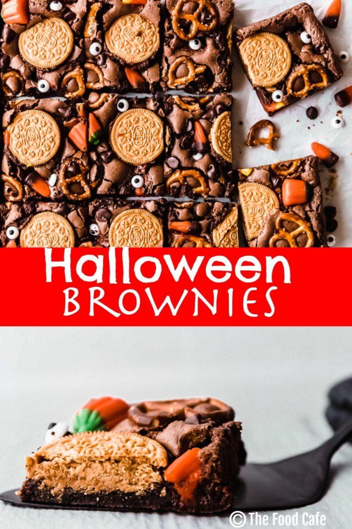 Halloween brownies   The Food Cafe