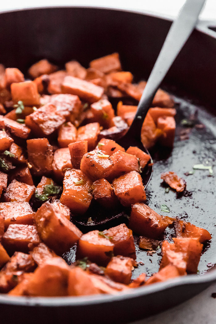 how to make oven roasted sweet potatoes