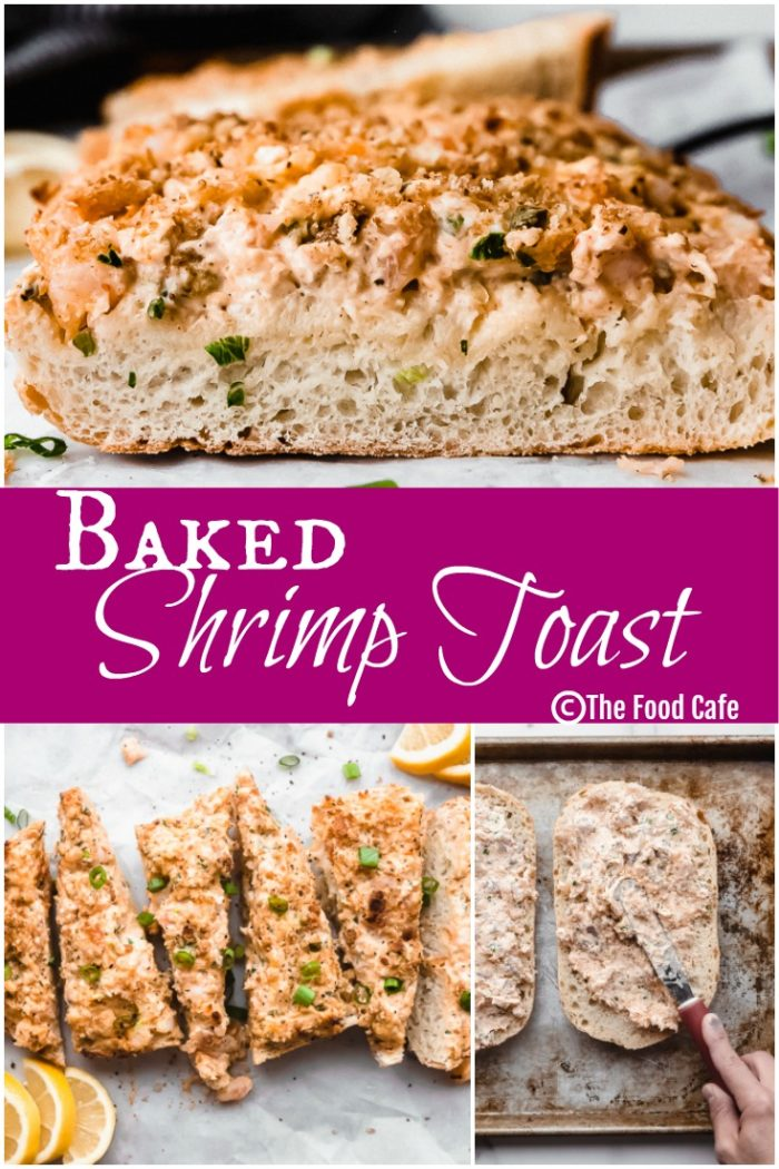 Shrimp Toast, The Food Cafe